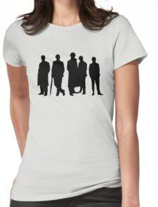 Sherlock Silhouette Womens Fitted T-Shirt