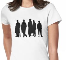 Sherlock Silhouette Womens Fitted T-Shirt