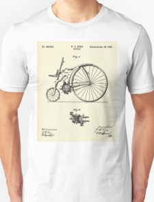 Bicycle- 1890 Unisex T-Shirt