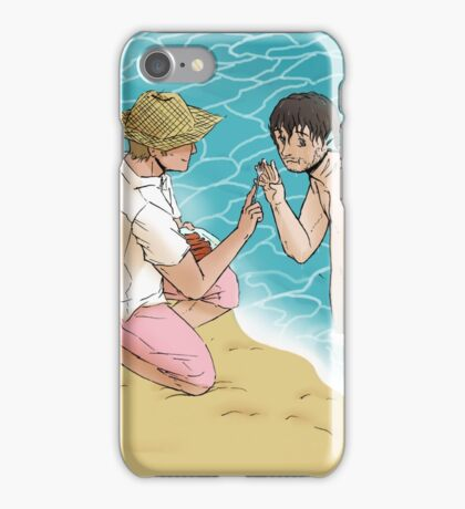Picnic at the Beach iPhone Case/Skin