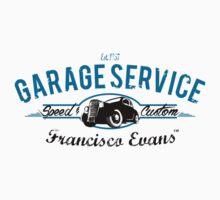 Garage Service Oldtimer by Francisco Evans ™ One Piece - Short Sleeve