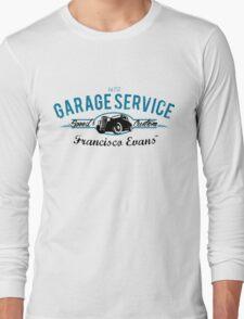 Garage Service Oldtimer by Francisco Evans ™ Long Sleeve T-Shirt