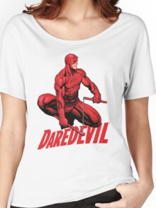 Daredevil The man without fear Women's Relaxed Fit T-Shirt