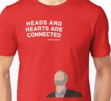 Heads and Hearts - Jeremy Corbyn Unisex T-Shirt