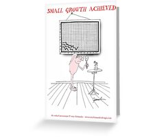 small growth achieved, tony fernandes Greeting Card