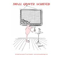 small growth achieved, tony fernandes Photographic Print