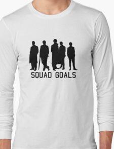 Sherlock Squad goals Long Sleeve T-Shirt