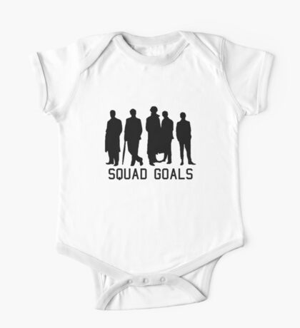 Sherlock Squad goals One Piece - Short Sleeve