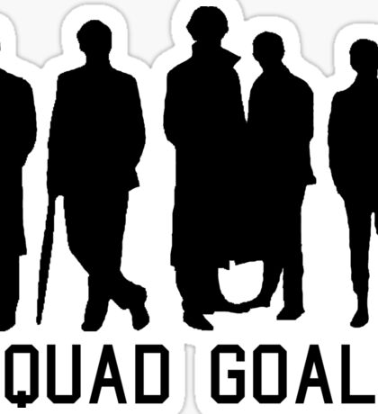 Sherlock Squad goals Sticker