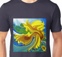 Sunflower Swirl Unisex T-Shirt