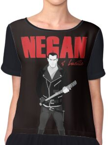 The Walking Dead - Negan & Lucille Chiffon Top