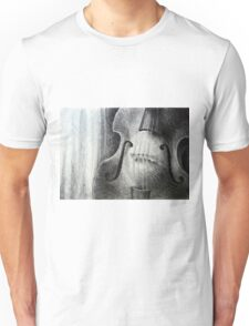 Sounds fill the room, 2012, A4, graphite crayon Unisex T-Shirt