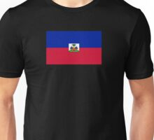 Haiti Flag Duvet Sticker T-Shirt Cell Phone Case Unisex T-Shirt
