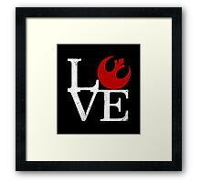 Rebellious Love Framed Print