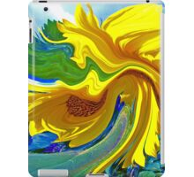 Sunflower Swirl iPad Case/Skin