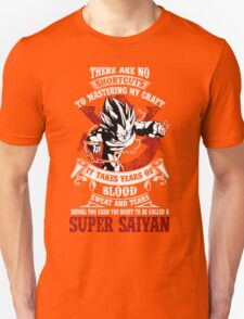 Vegeta Songoku SUPER SAIYAN Hot T-shirt T-Shirt