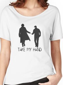 Take My Hand Women's Relaxed Fit T-Shirt