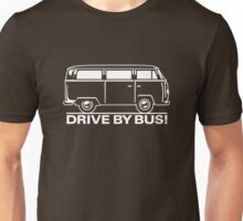 Drive by Bus 2 (white) Unisex T-Shirt