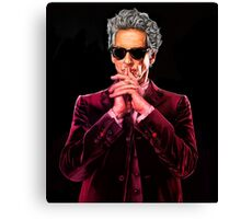 Doctor Who 12 Canvas Print