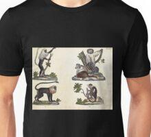 Naturgeschichte in Bildern mit erläuterndem Text E Strack 1820 Lief 1 Mammals 033 Unisex T-Shirt