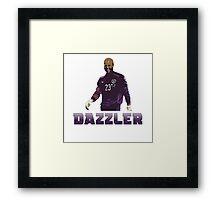 "Darren ""Dazzler"" Randolph Framed Print"