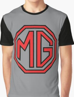 MG cars Abingdon England Graphic T-Shirt