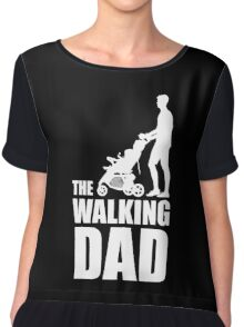 The Walking Dad Baby Carriage Chiffon Top
