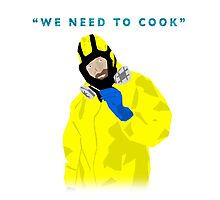 We need to cook Photographic Print