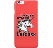 Gym Unicorn iPhone Case/Skin