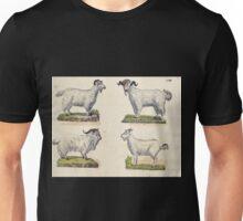 Naturgeschichte in Bildern mit erläuterndem Text E Strack 1820 Lief 1 Mammals 061 Unisex T-Shirt