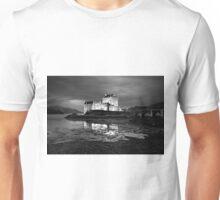 Late evening light on Eilean Donan Castle Unisex T-Shirt