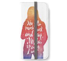 Emma Swan (watercolor);  iPhone Wallet/Case/Skin