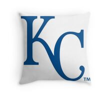 Kansas City Royals Baseball logo Throw Pillow