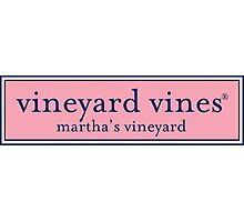 vineyard vines logo Photographic Print