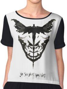 Batface Chiffon Top