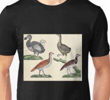 Naturgeschichte in Bildern mit erläuterndem Text E Strack 1820 Lief 2 Birds 009 Unisex T-Shirt