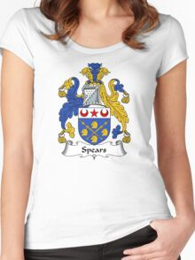 Spears Coat of Arms / Spears Family Crest Women's Fitted Scoop T-Shirt