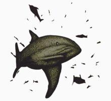 Shark on the Hunt Kids Tee