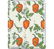 hot habanero iPad Case/Skin