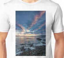 Sunset over Mount Wellington  Unisex T-Shirt