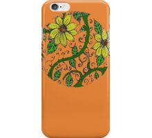 Sunflower - orange  iPhone Case/Skin