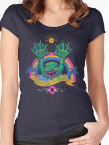 High-Five Champion Women's Fitted Scoop T-Shirt