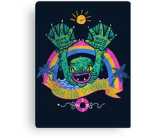 High-Five Champion Canvas Print