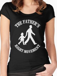 The Father's Right Movement Women's Fitted Scoop T-Shirt