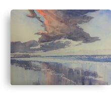 Flamborough Head from Fraisthorpe Beach Canvas Print