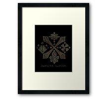 Monster Hunter Guild Framed Print
