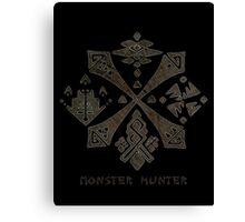 Monster Hunter Guild Canvas Print