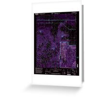USGS TOPO Map Alabama AL Newburg 304677 2000 24000 Inverted Greeting Card