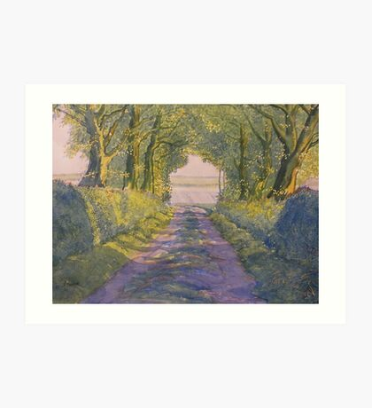 Hockney's Tunnel from t'Other Side  Art Print