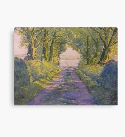 Hockney's Tunnel from t'Other Side  Canvas Print